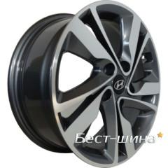 Replica Hyundai (HY127) 6.5x16 5x114.3 ET50 DIA67.1 GMF