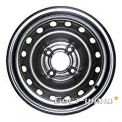 Skov Chevrolet Aveo 6x15 4x100 ET48 DIA56.5 Black
